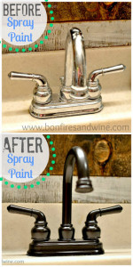 before after faucet